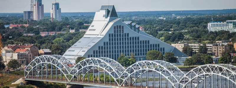World's Coolest New Tourist Attractions 2015 - Nr.15 National Library of Latvia