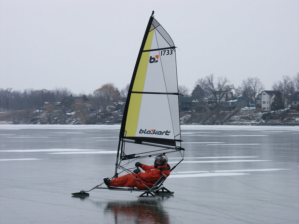 ACTIVE / LITHUANIA / ICE BLOKART TOUR FROM RIGA OR VILNIUS