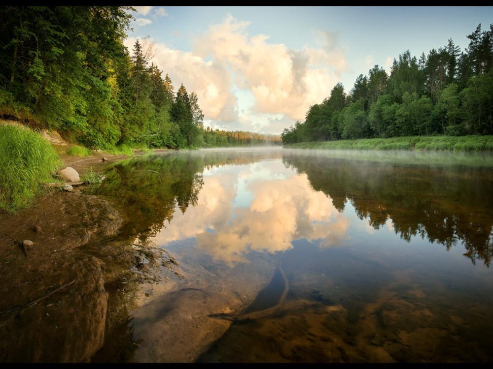 Aktiv lettland kanutour durch den gauja nationalpark