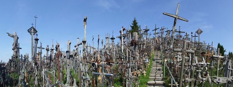 ONE DAY TOUR / LITHUANIA,LATVIA / HILL OF CROSSES & RUNDALE PALACE