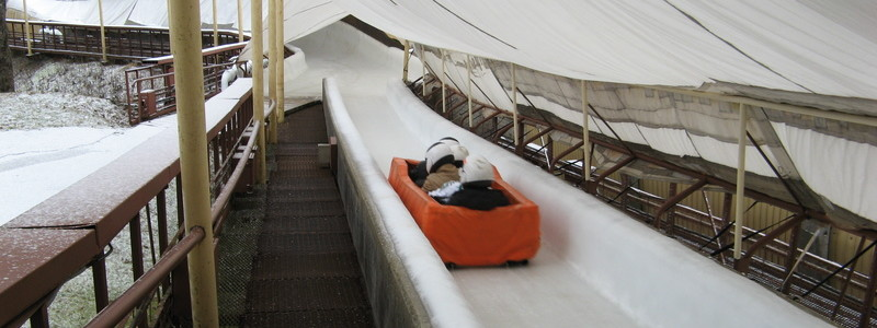 ACTIVE TOURS / LATVIA / RIDE WITH  BOBSLEIGH