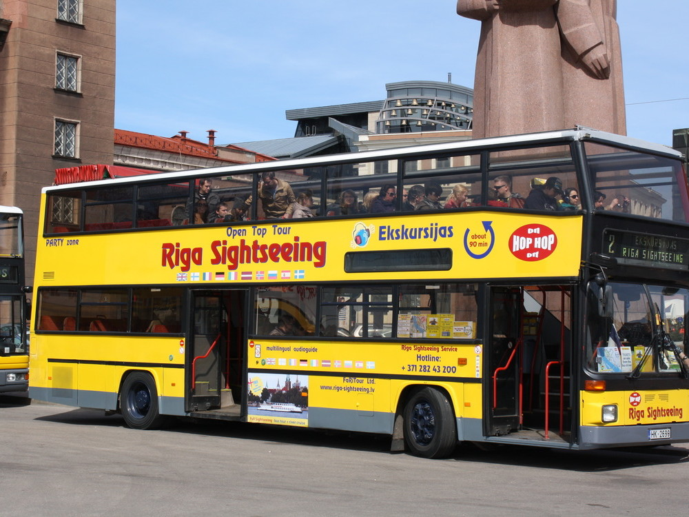 SPECIAL OFFER / SIGHTSEEING BUS TICKETS & GUIDED OLD RIGA TOUR